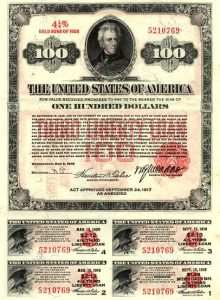 Third Liberty Loan Bond